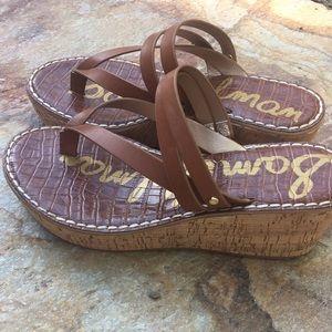 Shoes - NWOT Sam Edelman wedge sandals